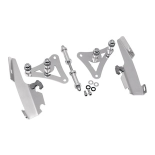 Memphis Shades Fats/Slim Trigger-Lock Mount Kit For Harley Softail 1988-2007 Polished [Open Box]