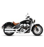 "Rinehart 3 1/2"" Slip-On Mufflers For Indian Scout 2015-2017"
