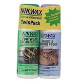 NikWax Footwear Clean And Waterproof Kit