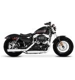 """Rinehart 3"""" Slip-On Mufflers For Harley Sportster 2014-2017"""