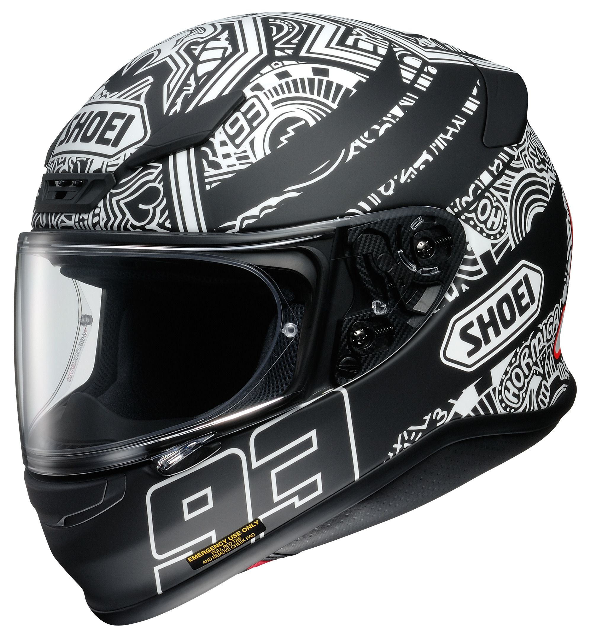 shoei rf 1200 marquez digi ant helmet revzilla. Black Bedroom Furniture Sets. Home Design Ideas