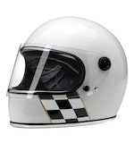 Biltwell Gringo S Checker Stripe Limited Edition Helmet
