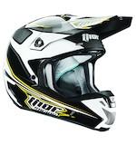 Thor Verge Amp Helmet Black/White/Yellow / LG [Blemished - Very Good]