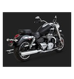 Vance & Hines Twin Slash Duals Slip-On Mufflers Triumph Thunderbird 2015