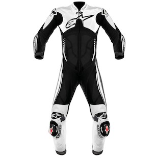 Alpinestars Atem Race Suit Black/White / 56 [Blemished - Very Good]