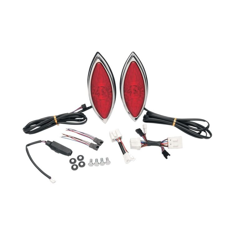 Russ Wernimont LED Cat Eye Taillight Turn Signals