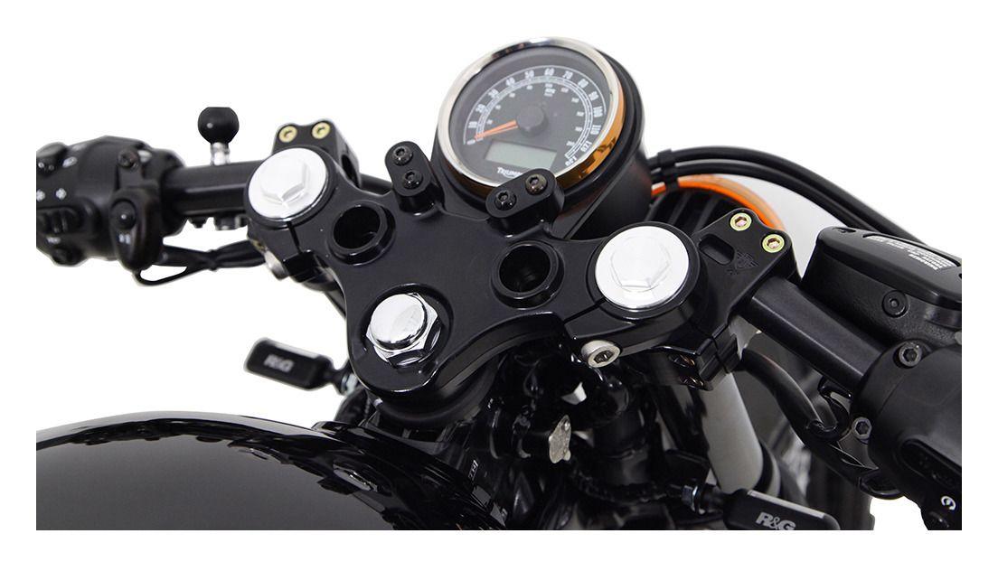 Denali Solo Speedometer Gauge Mount Triumph Thruxton 900