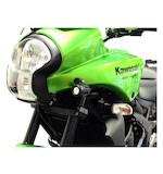 Denali Auxiliary Light Mounting Brackets For D2 & DM Lights Kawasaki Versys 650 2007-2009