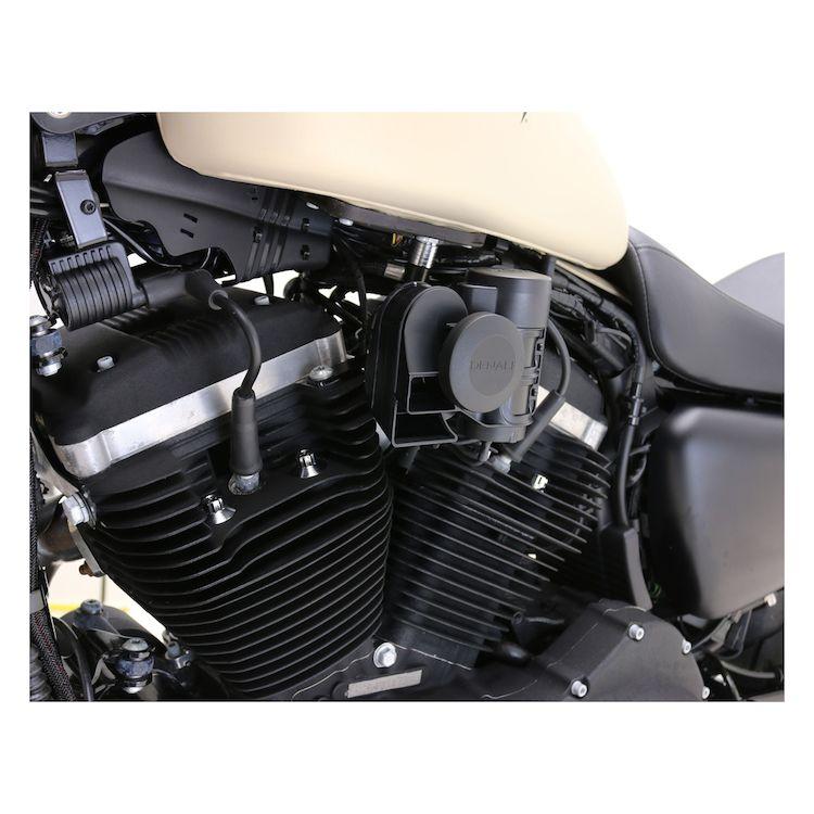 Denali SoundBomb Horn Mount For Harley 1984-2018