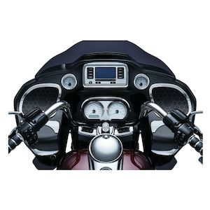 Kuryakyn Tri-Line Glove Box Accents For Harley Road Glide 2015-2020