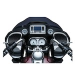 Kuryakyn Tri-Line Glove Box Accents For Harley Road Glide 2015-2017