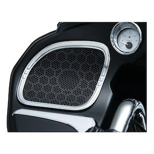 Kuryakyn Tri-Line Speaker Accents For Harley Road Glide 2015-2018
