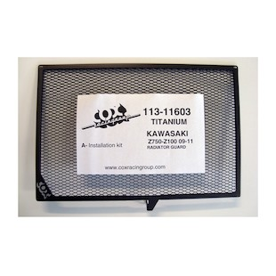 Cox Racing Radiator Guard Kawasaki Z750 / Z1000