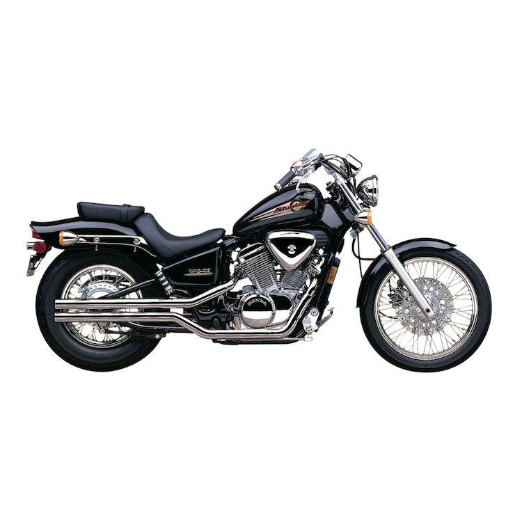 Cobra Classic Slashcut Exhaust Honda Shadow Vt600c 10 4199