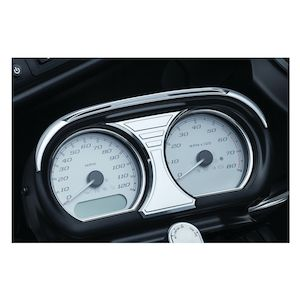 Kuryakyn Tri-Line Speedo / Tach Accent For Harley Road Glide 2015-2019