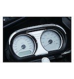 Kuryakyn Tri-Line Speedo / Tach Accent For Harley Road Glide 2015-2017