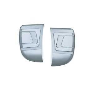 Bahn Media Door And Side Panel Accents For Harley Touring 2014-2017
