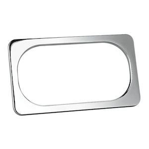 Arlen Ness Smooth License Plate Frame