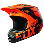 Fox Racing V2 Union Helmet Orange / MD [Open Box]