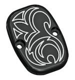 Arlen Ness Engraved Rear Brake Master Cylinder Cover For Harley