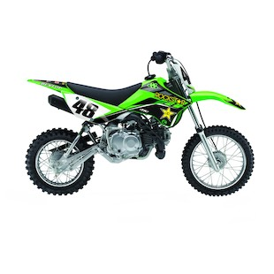 Factory Effex Complete Rockstar Graphics Kit Kawasaki KLX 110 2010-2016 [Open Box]