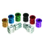 Pit Bull Spool Kit Triumph 675 / R / Street Triple / R 2013+ Green / Aluminum [Open Box]