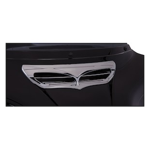 Ciro Fairing Intake Trim For Harley Touring 2014-2015 Without Light / Chrome [Open Box]