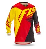 Fly Racing Youth Kinetic Vector Jersey