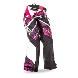 Fly Racing Dirt Girl's Kinetic Boot Cut Race Pants