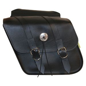 Willie & Max Deluxe Throw-Over Slant Saddlebags