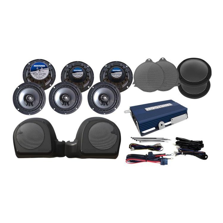 Hogtunes 6 Speaker And Amp Kit For Harley Ultra 2014-2019