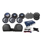 Hogtunes 6 Speaker And Amp Kit For Harley Ultra 2014-2017