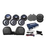 Hogtunes 6 Speaker & Amp Kit For Harley Ultra 2014-2016