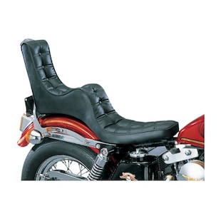 Drag Specialties King / Queen 2-Up Scorpion Seat For Harley