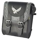Willie & Max Grey Thunder Studded Sissy Bar Bag