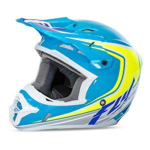 Fly Racing Dirt Youth Kinetic Full Speed Helmet