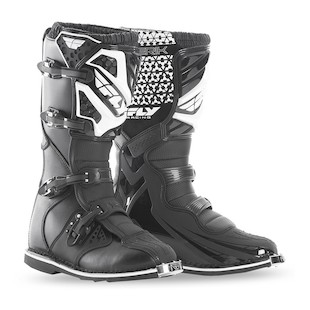 Fly Racing Maverik Boots (Color: Black / Size: 8)