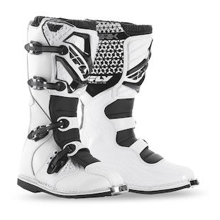 Fly Racing Maverik Boots (Color: White / Size: 7)