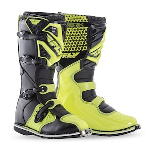 Fly Racing Maverik Boots (Color: Hi-Viz / Size: 7)