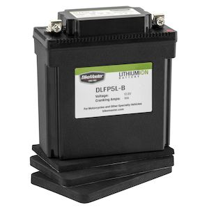 BikeMaster Lithium Ion Battery DLFP-5L-B