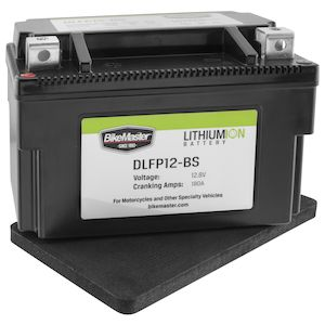 BikeMaster Lithium Ion Battery DLFP-12-BS