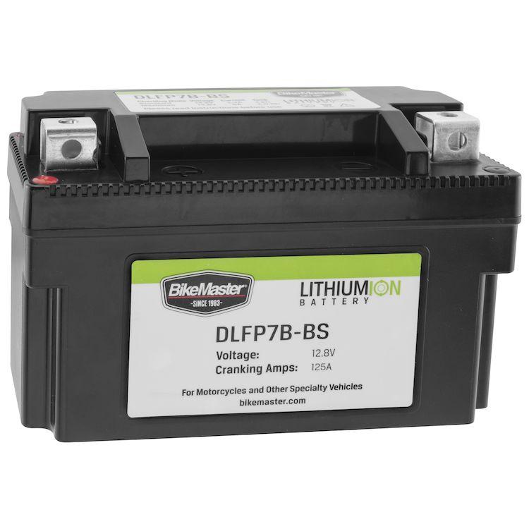 BikeMaster Lithium Ion Battery DLFP-7B-BS