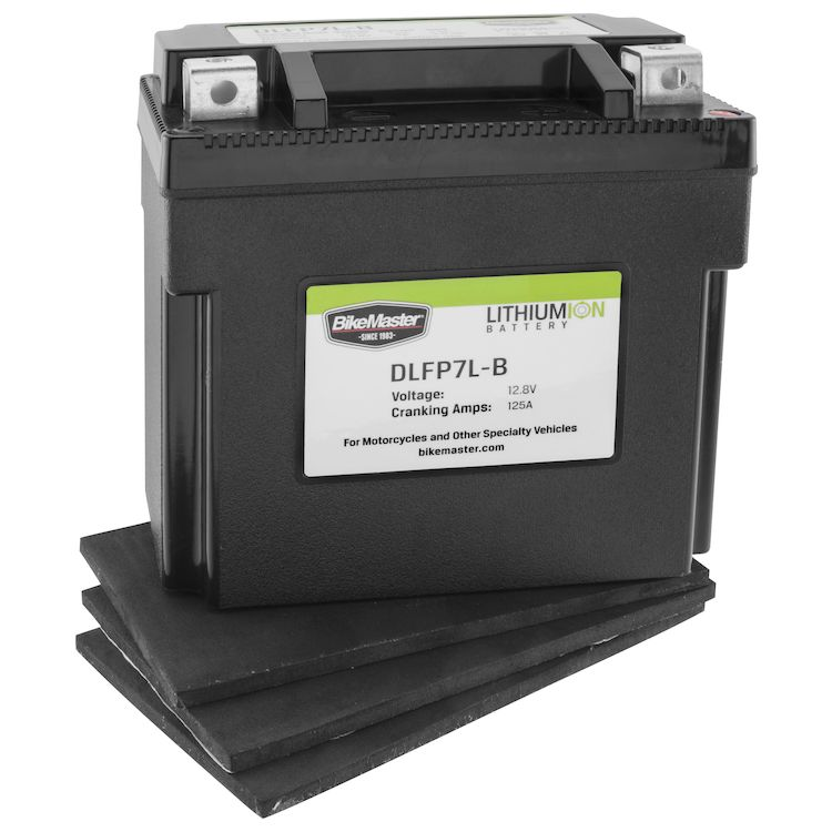 Bike Master Lithium Ion Battery DLFP-7L-B