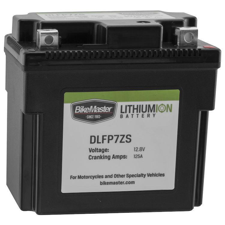 BikeMaster Lithium Ion Battery DLFP-7ZS