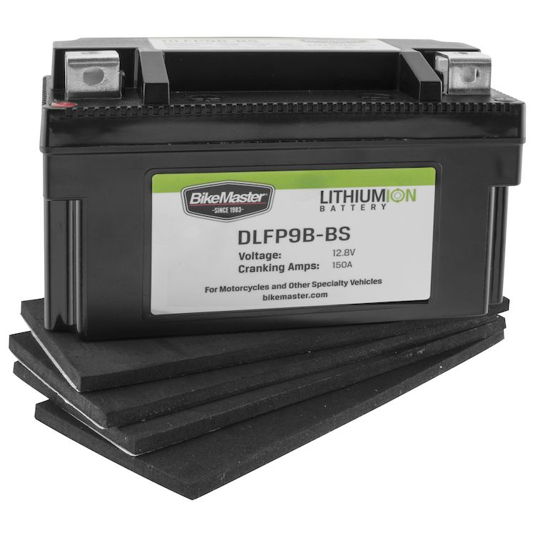 Bike Master Lithium Ion Battery DLFP-9B-BS