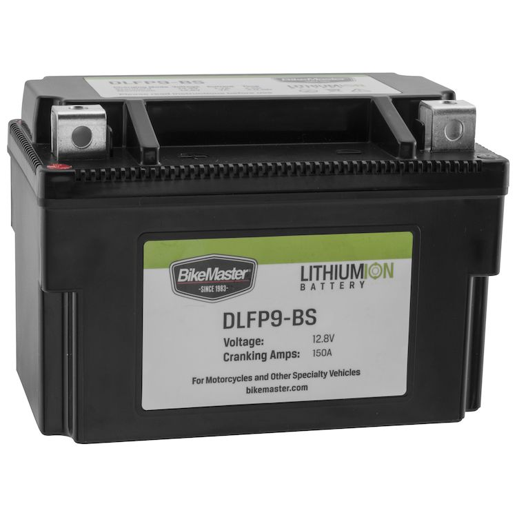 Bike Master Lithium Ion Battery DLFP-9-BS