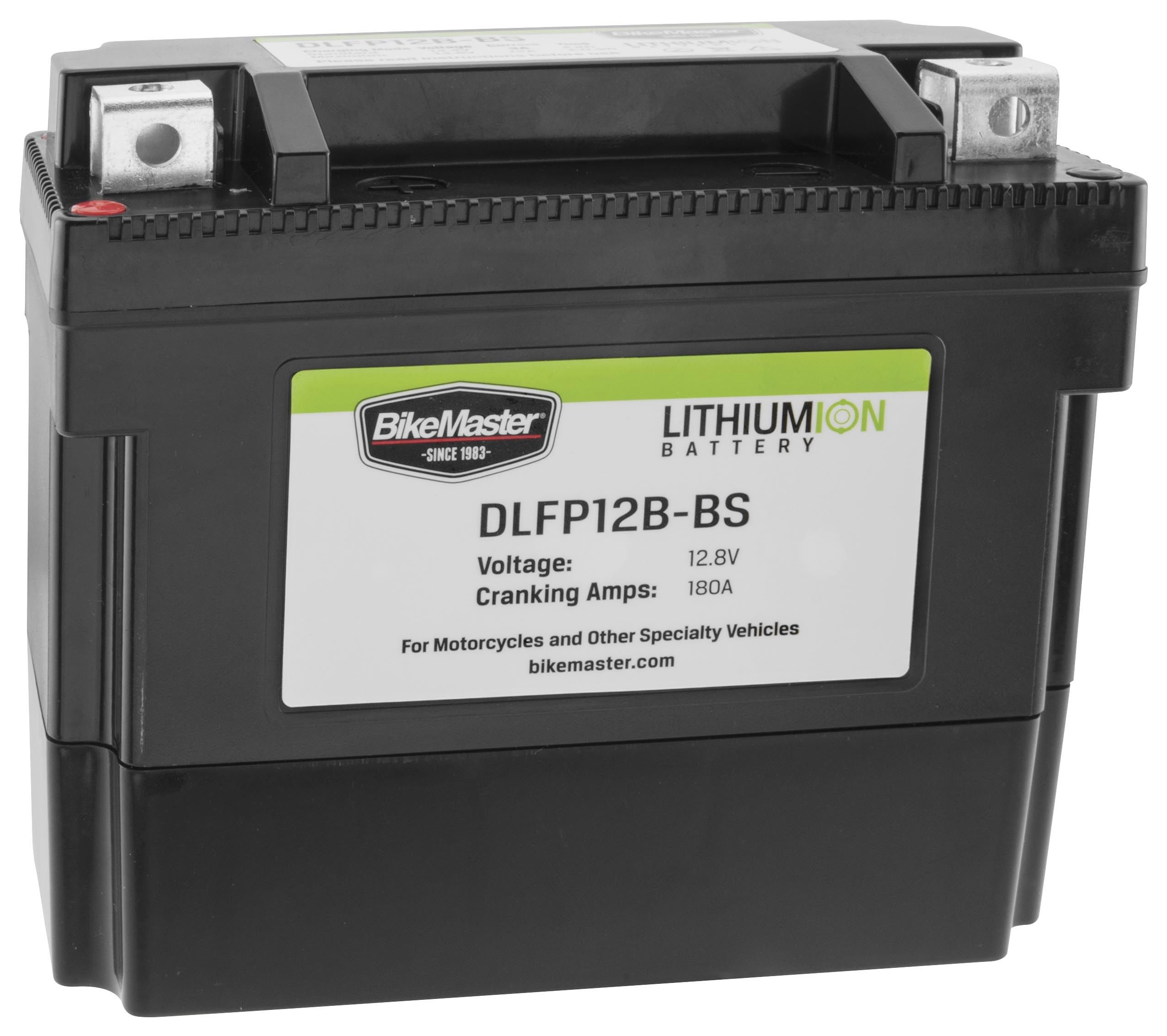 Bike Master Lithium Ion Battery DLFP-12B-BS | 10% ($14.99) Off ...
