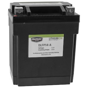 BikeMaster Lithium Ion Battery DLFP-14-A