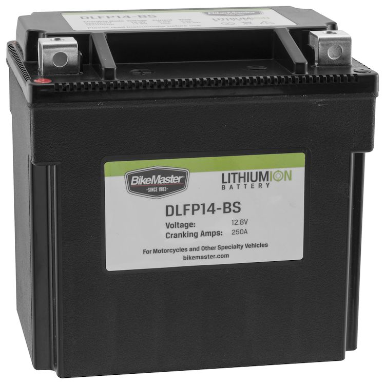BikeMaster Lithium Ion Battery DLFP-14-BS