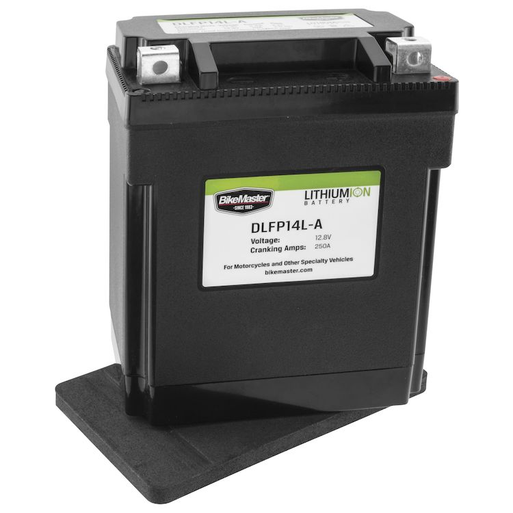 Bike Master Lithium Ion Battery DLFP-14L-A